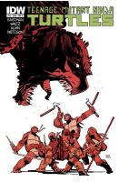 Teenage Mutant Ninja Turtles #16 - Cover A